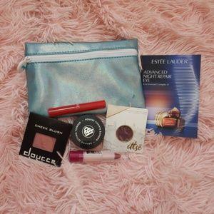 6 piece makeup and ipsy bag bundle